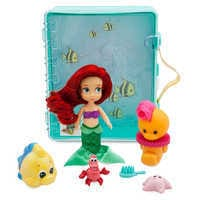 Image of Disney Animators' Collection Ariel Mini Doll Playset - The Little Mermaid # 2