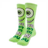 Image of Mike Wazowski Socks for Adults # 2