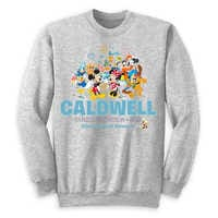 Image of Mickey Mouse and Friends Family Vacation Pullover for Adults - Disneyland 2019 - Customized # 1