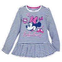 Image of Minnie Mouse ''Fabulous'' T-Shirt for Girls # 1