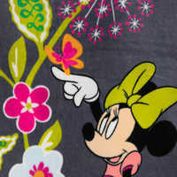 Image of Mickey Mouse and Friends Floral Beach Towel by Vera Bradley # 3