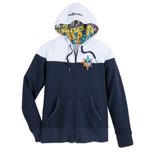mickey mouse compass hoodie for women