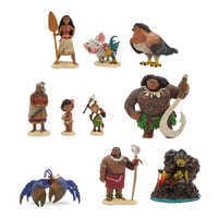 Image of Moana Deluxe Figure Playset # 1