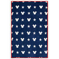 Image of Mickey Mouse Americana Reversible Throw # 1