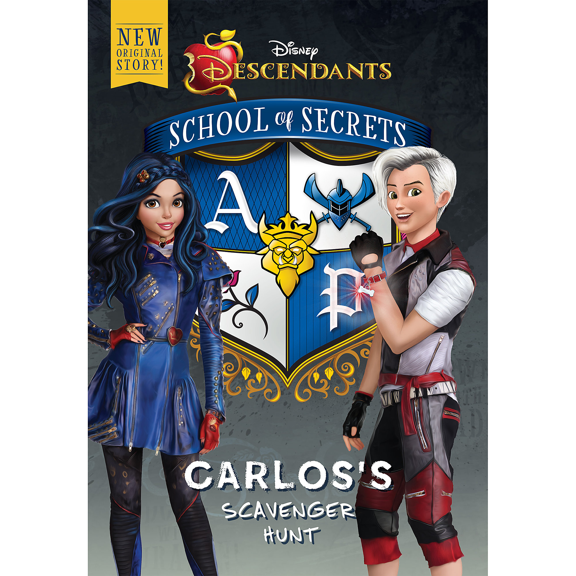 Descendants: School of Secrets: Carlos's Scavenger Hunt Book