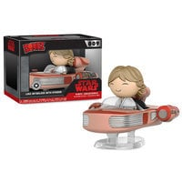 Luke Skywalker with Speeder Dorbz Vinyl Figure Set by Funko