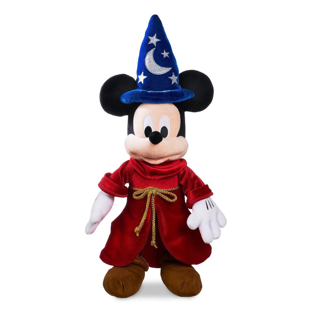 6d10b7919b80bf Sorcerer Mickey Mouse Plush - Medium - Personalizable