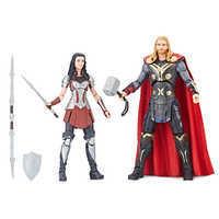 샵디즈니 Disney Thor and Sif Action Figure Set - Legends Series - Marvel Studios 10th Anniversary