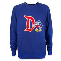 Image of Mickey Mouse Collegiate Sweatshirt - Disneyland - Men # 1