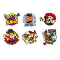 Image of Toy Story 2 Pin Set - Limited Release # 1
