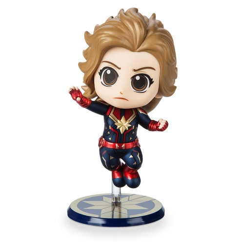 Marvel's Captain Marvel Cosbaby Bobble-Head Figure by Hot Toys - Flying Version