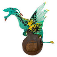 Image of Pandora - The World of Avatar Interactive Banshee Toy - Green/Yellow Variant # 2