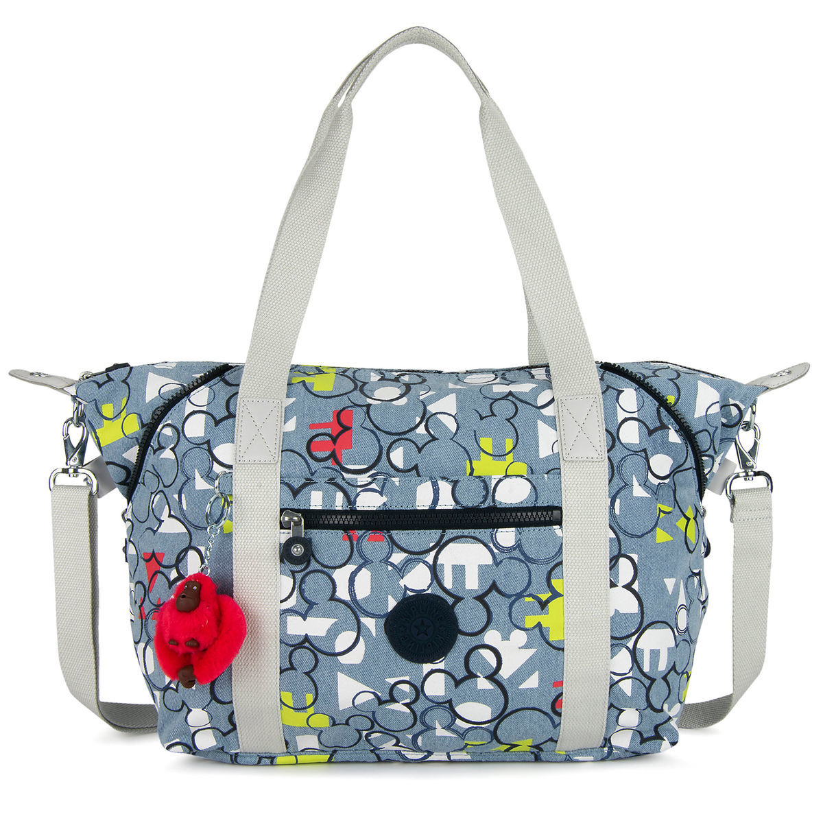 Product Image of Mickey Mouse Duffle Bag by Kipling   1 7f19e89fa3327