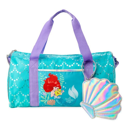 Ariel And Flounder Duffle Bag For Kids The Little