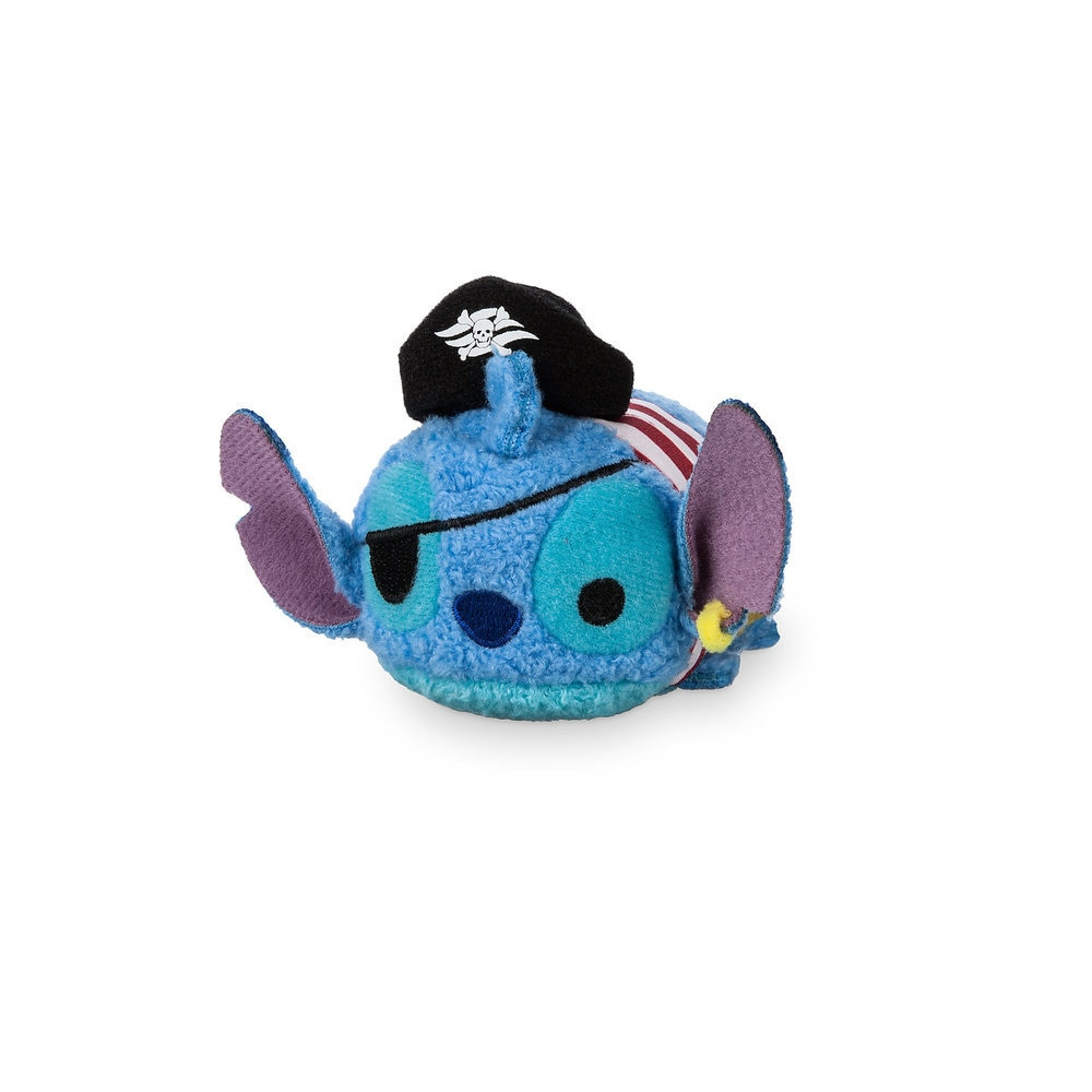 Pirate Stitch ''Tsum Tsum'' Plush - Disney Cruise Line - Mini
