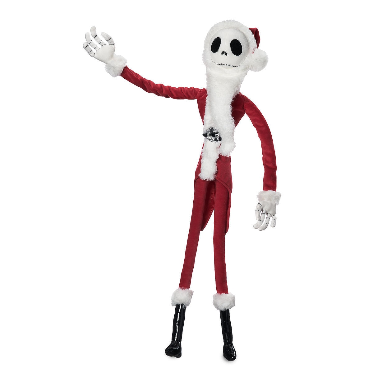 Product Image of Jack Skellington Sandy Claws Plush - Tim Burton's The Nightmare Before Christmas -