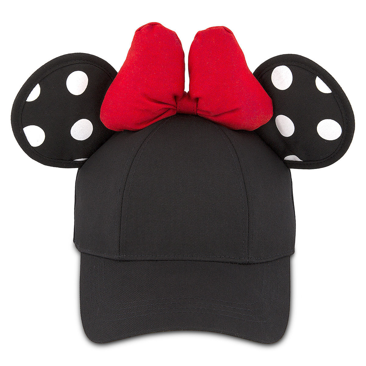 Product Image of Minnie Mouse Polka Dot Ears Baseball Cap for Adults   1 3a9780dd3af9