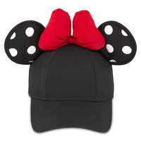 Image of Minnie Mouse Polka Dot Ears Baseball Cap for Adults # 1