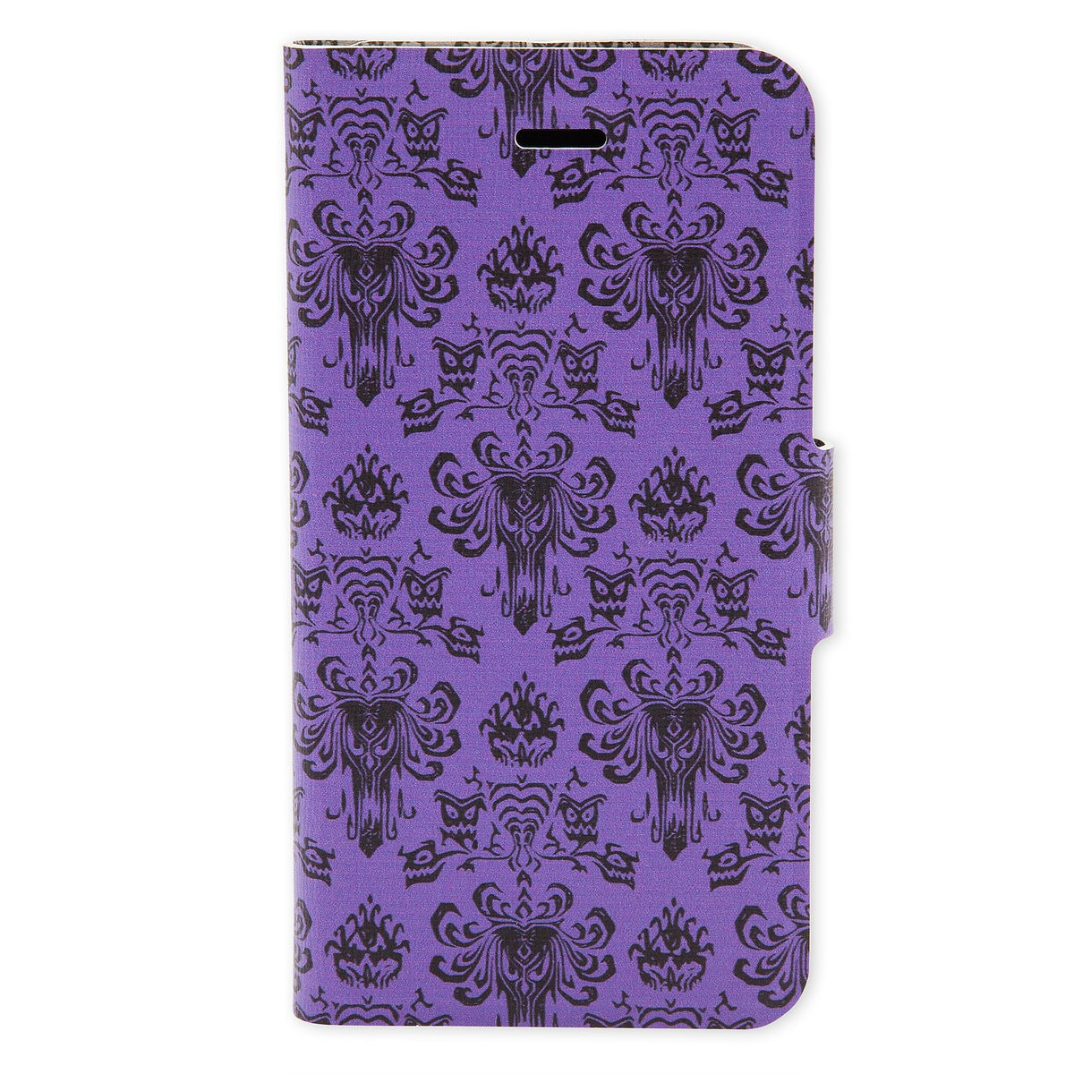 check out 2ffb9 2888a Haunted Mansion Wallpaper Reversible iPhone 7/6/6S Portfolio Case