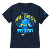 Image of Genie T-Shirt for Boys - Aladdin - Live Action Film # 1