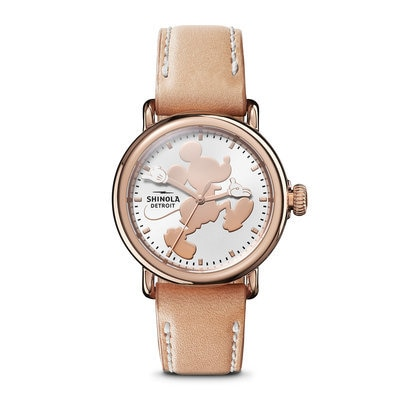 Mickey Mouse Silhouette Watch for Women by Shinola Official shopDisney