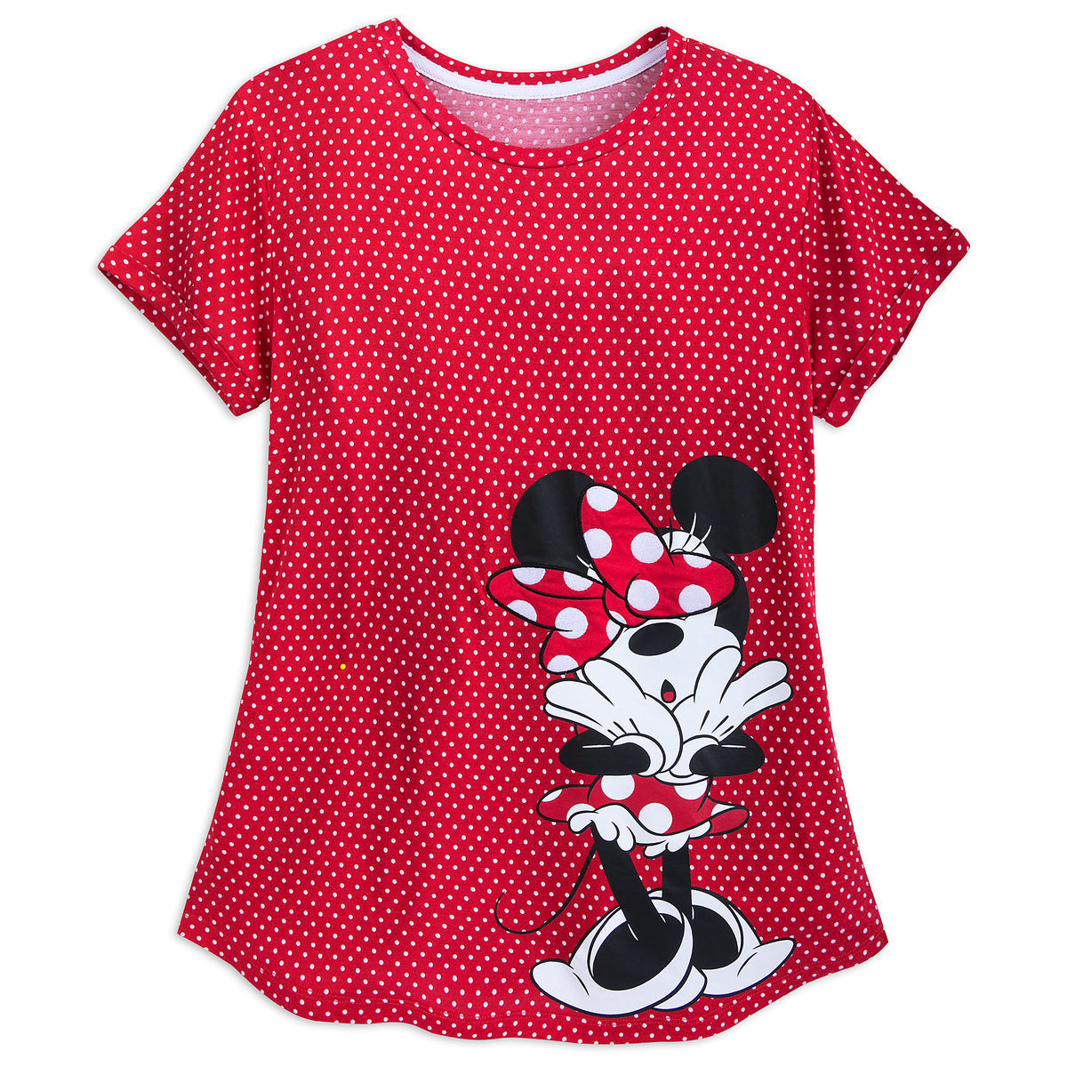 Minnie Mouse Polka Dot Shirt For Women Shopdisney