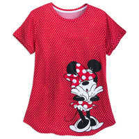Image of Minnie Mouse Polka Dot Shirt for Women # 1