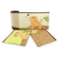 Simba and Nala Crib Bumpers - The Lion King