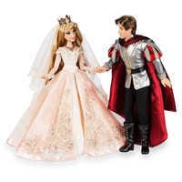 Image of Aurora and Prince Phillip Limited Edition Wedding Doll Set - Sleeping Beauty 60th Anniversary - 17'' # 10