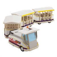 Image of Disney Parks Parking Lot Tram Die Cast Vehicle # 1