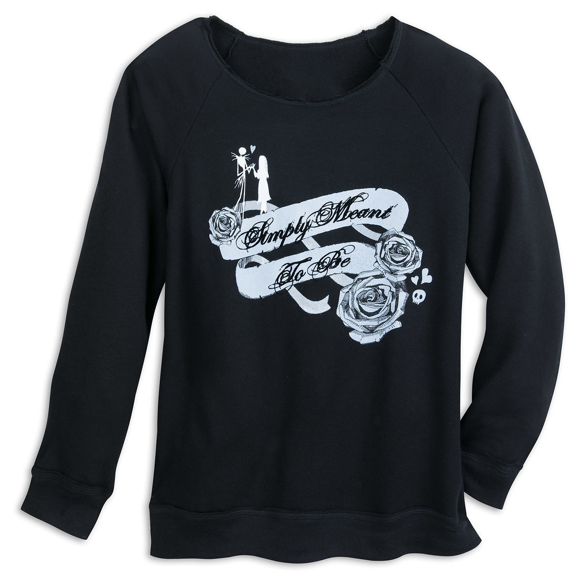 Product Image of Jack Skellington and Sally Fashion Sweatshirt for Women # 1
