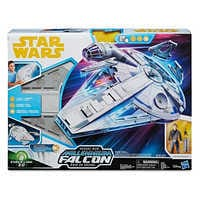 Image of Han Solo Action Figure & Millennium Falcon Force Link Set by Hasbro - Solo: A Star Wars Story # 3