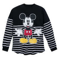 Image of Mickey Mouse Striped Spirit Jersey for Adults # 1