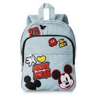 Image of Mickey Mouse Embroidered Mini Backpack # 1