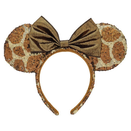 Minnie Mouse Animal Print Ear Headband Disney S Animal