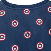 Image of Captain America Sweatshirt for Women by Her Universe # 3