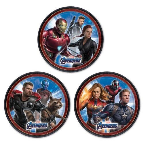 Marvel's Avengers: Endgame Dessert Plates