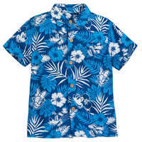 Image of Mickey Mouse and Friends Aloha Shirt for Boys - Disney Hawaii # 1