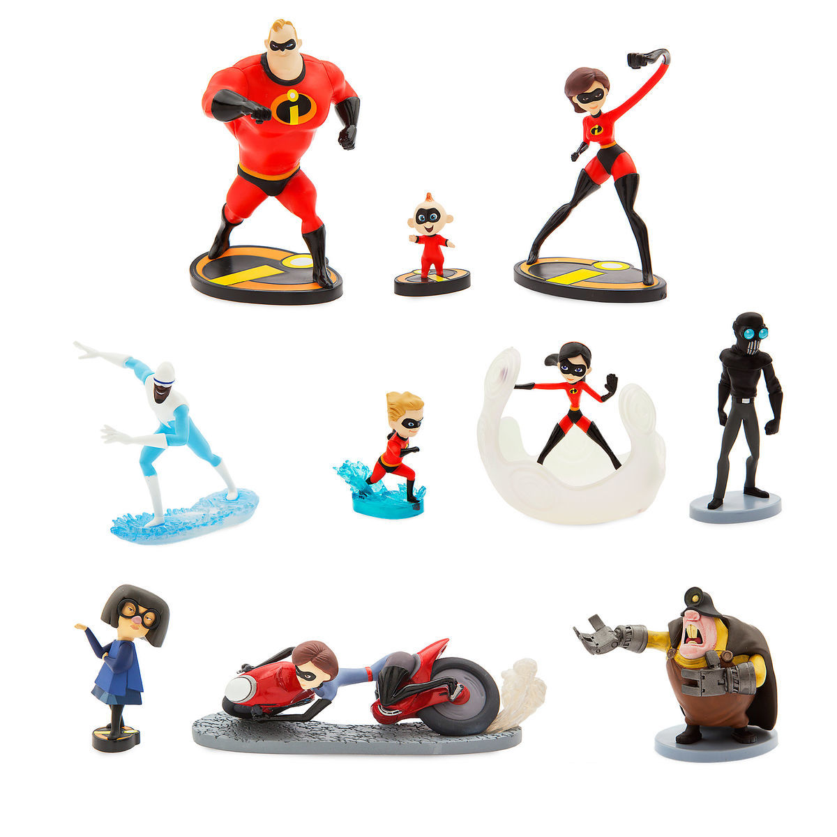 Product Image of Incredibles 2 Deluxe Figure Set # 1