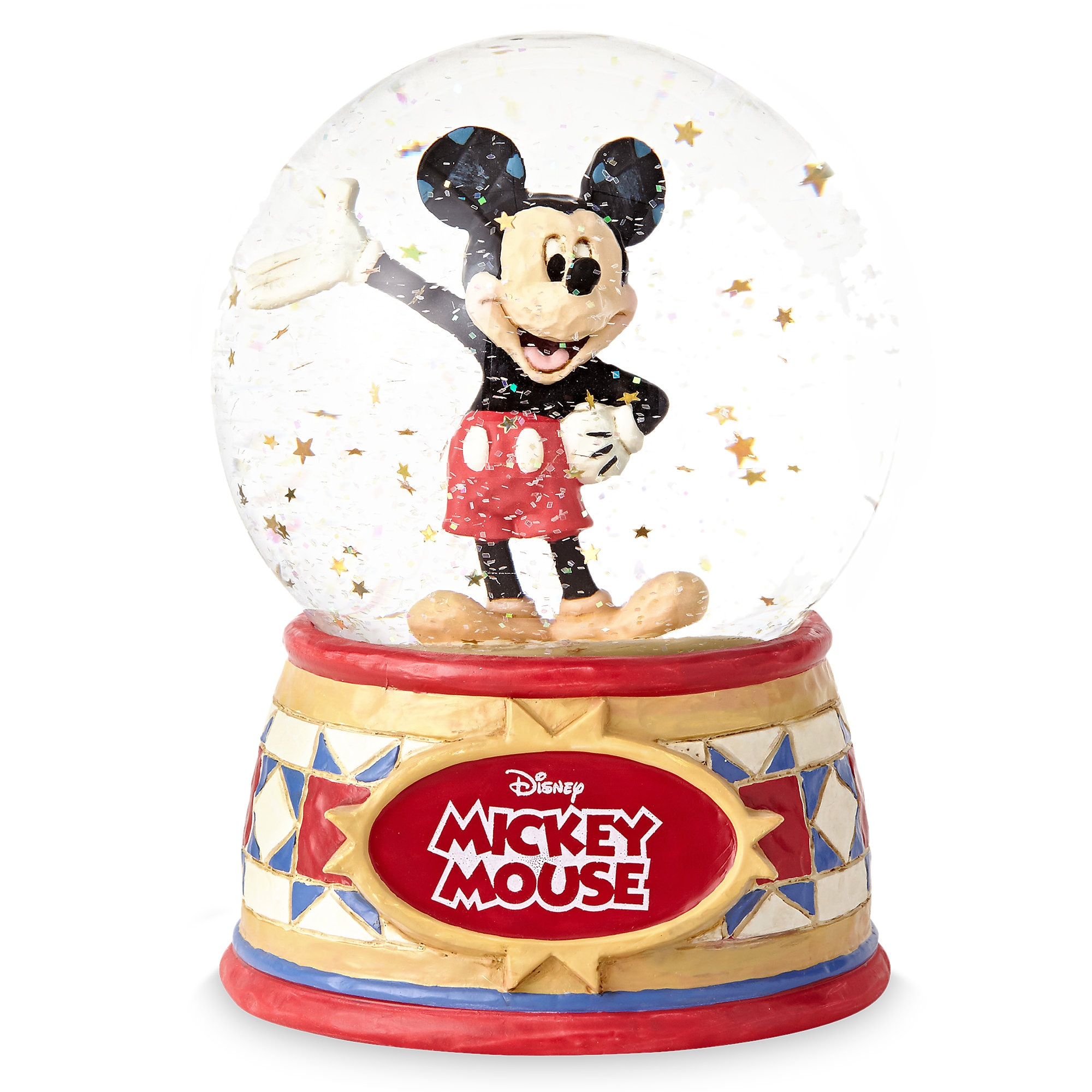 Mickey Mouse ''The One and Only'' Snowglobe - Jim Shore