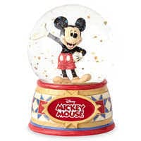Image of Mickey Mouse ''The One and Only'' Snowglobe - Jim Shore # 1