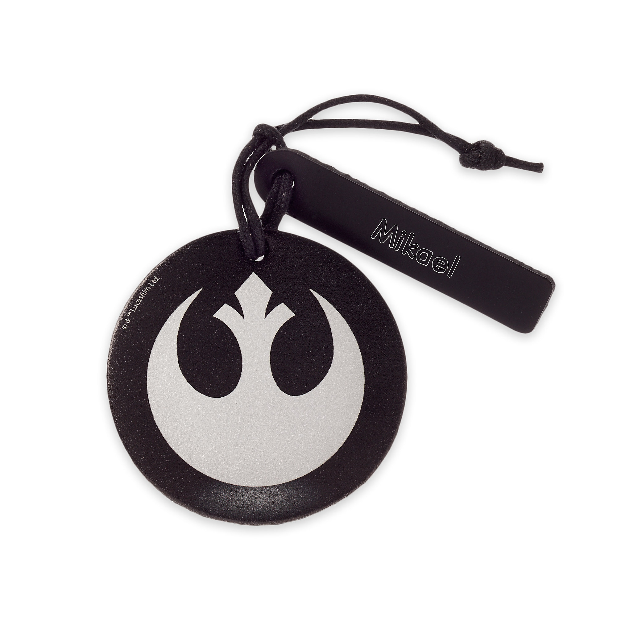 Star Wars Resistance Starbird Leather Luggage Tag - Personalizable