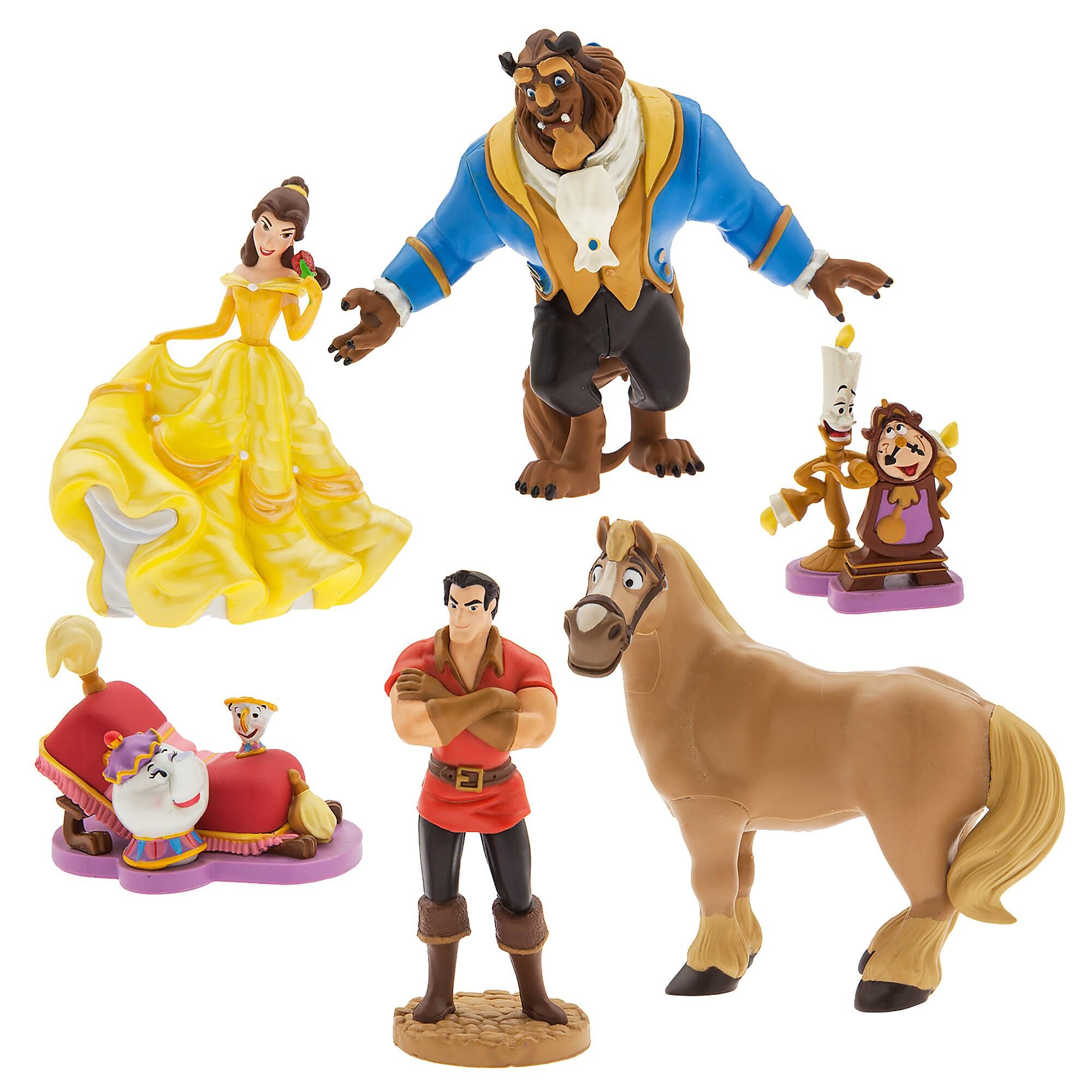 Beauty and the Beast Figure Play Set