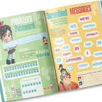 Image of Your Day with Wreck-It Ralph Activity Book - Personalizable # 3