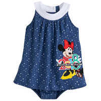 Image of Minnie Mouse Fashion Bodysuit for Baby - Disneyland 2018 # 1