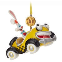 Disney Store deals on Roger Rabbit and Benny the Cab Legacy Sketchbook Ornament