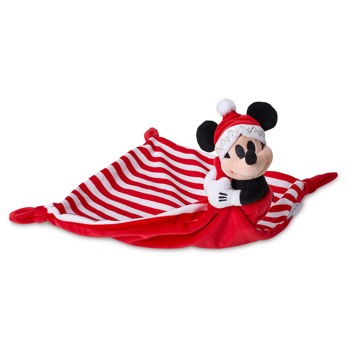 mickey mouse my first christmas plush blankie for baby - Christmas Plush Toys