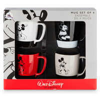 Image of Mickey Mouse Mug Set - 4 pc. - Walt Disney Studios # 3