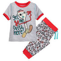 Image of Forky Pajama Set for Boys - Toy Story 4 # 1