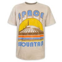Image of Space Mountain Attraction T-Shirt - Adults # 1